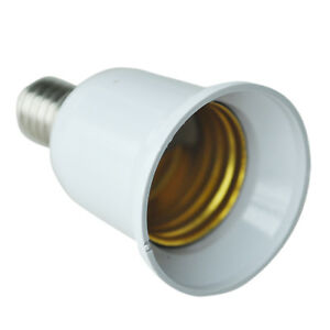 Lights & Lighting Lamp Bases Shop For Cheap Top Quality E14 To E27 Extend Base Led Cfl Light Bulb Lamp Adapter Converter Screw Socket Matching In Colour