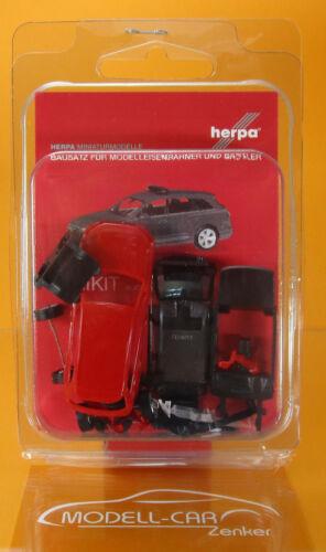 Herpa 013536 MINIKIT audi q7 rouge Scale 1 87