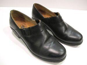 Ariat-Paddock-Sport-Black-Premium-Leather-Walking-Comfort-Clog-6-B-Style-52301