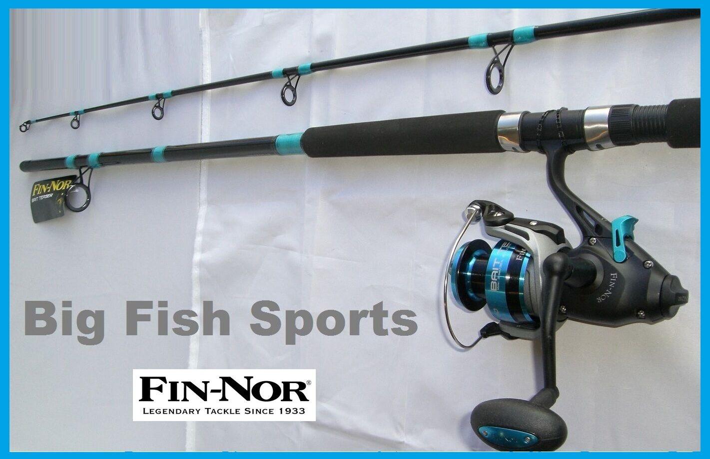 Fin-nor cebo Teaser 8' de pesca Combo De Spinning Caña Y Carrete Nuevo   bt 60802mh