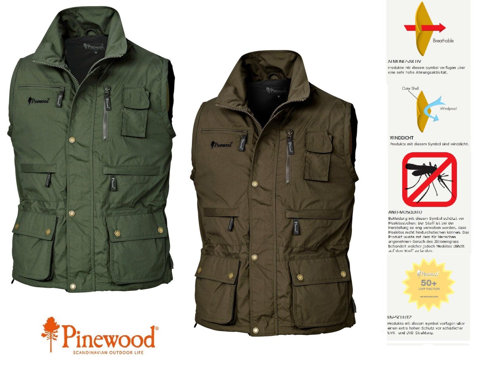 Pinewood Tiveden Neue Tiveden Pinewood Weste - Atmungsaktiv und Wasserabweisend 873693