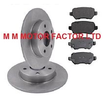Rear Brake Discs /& Pads Set New For Vauxhall Astra MK5 H 1.7 1.9 CDTi DTI 2004