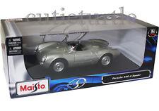 Maisto Porsche 550 A Spyder 1:18 Diecast Silver 31843