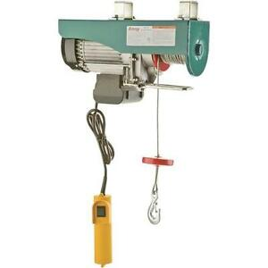 H0779 grizzly electric hoist 1 1 4 hp 110v ebay for 1 4 ton chain motor