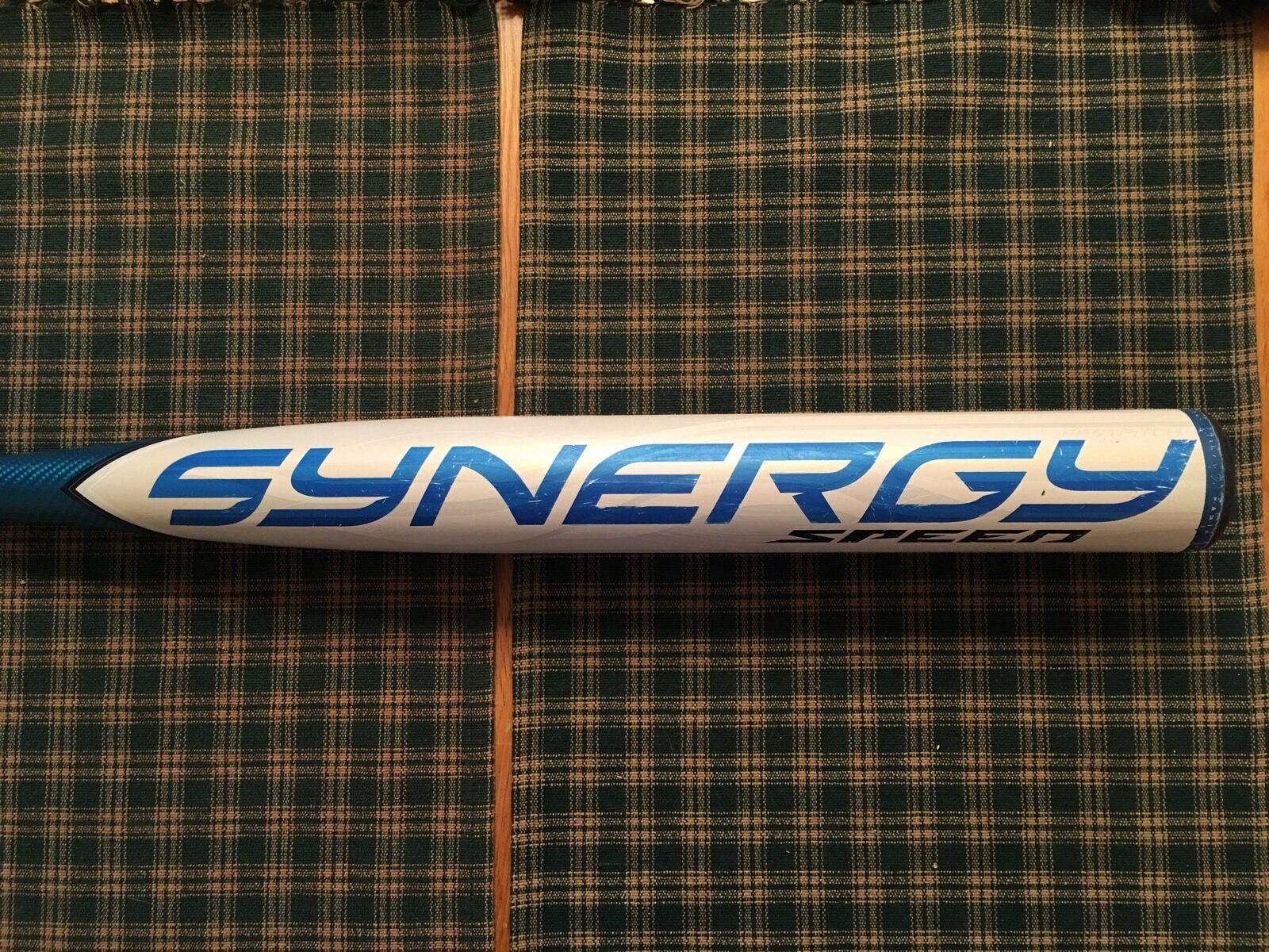 RARE USED Easton SYNERGY Speed SRV4B Fastpitch Softball Bat Bat Softball 33/23 (-10) ASA HOT dbf85c