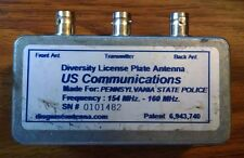Diversity Disguised Antenna RF Combiner Dual VHF Transmit Receive 154-160 MHz