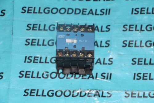 Fenal Elektrik DSL710120V Relay 20Amp 110//120Vac Coil 3-Pole DSL7-10-120V New