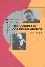 The Complete Correspondence, 1928-1940 by Theodor W. Adorno (2001, Paperback)