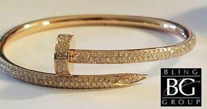 c4c0735d5dfe Cartier ®   2.26 CT Diamante Juste un Clou ™ Pulsera De Oro Amarillo ...