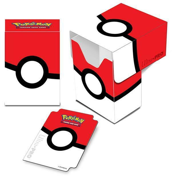 ULTRA PRO - Pokémon - Pokéball - Full View Deck Box