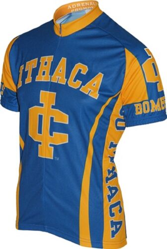 NCAA Men/'s Adrenaline Promotions Ithaca Bombers Road Cycling Jersey