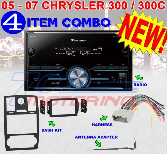 05 06 07 CHRYSLER 300 PIONEER BLUETOOTH USB AUX BT AM//FM CAR Radio Stereo