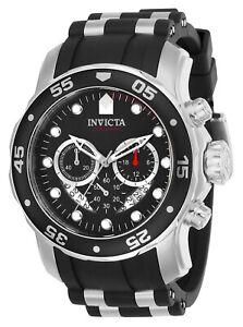 Invicta-Herren-Pro-Diver-21927-48mm-Black-Dial-Chronograph-Watch