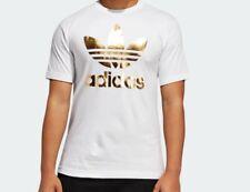 Men's adidas Originals Superstar Label Trefoil Tee Shirt Medium ...