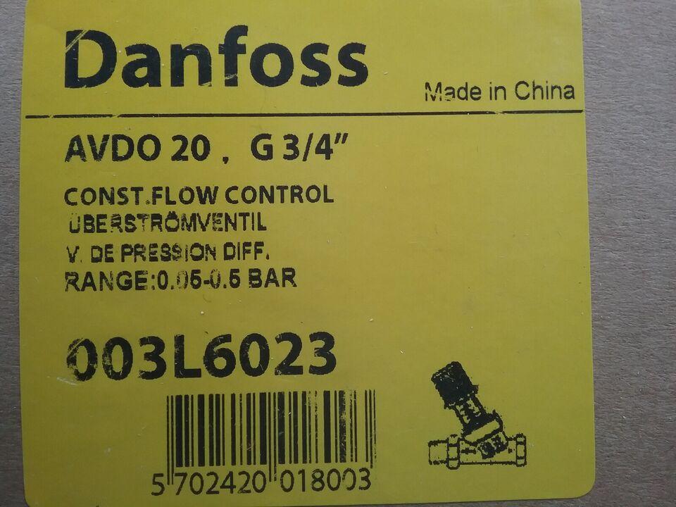 Trykstyring, Danfoss VDO 20
