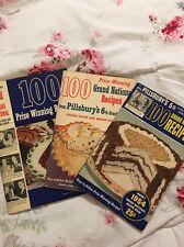 100 Prize-Winning Recipes PILLSBURY Grand National Bake-Offs 1952, '54, '55
