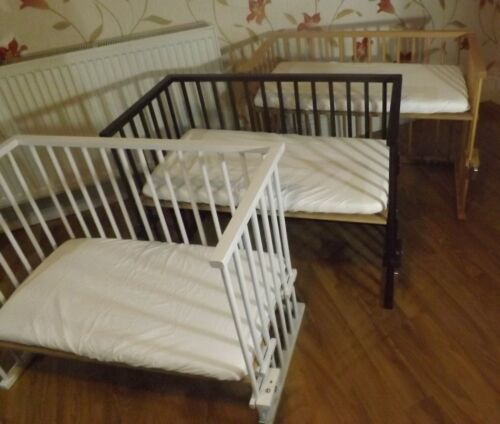 Mattress Space saver Next-To-Mum Bedside crib  Side by Side Crib Cot