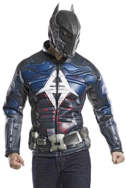 Arkham Franchise - Arkham Knight Batman Adult Muscle Costume  sc 1 st  eBay & Batman Arkham Knight Muscle Chest Adult Costume Large | eBay