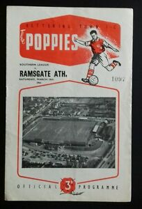 Kettering-Town-v-Ramsgate-Athletic-Programme-18-03-61
