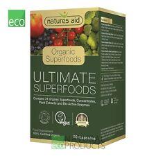 Natures Aid Organic Ultimate Superfoods 60 Capsules