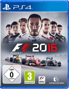 Sony Ps4 Playstation 4 Spiel F1 2016 Formel 1 16 Formula Uno One