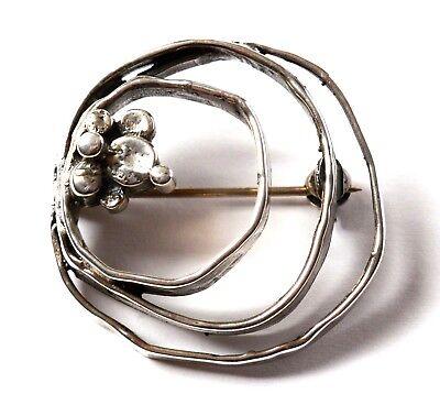 Hospitable Designerbrosche Brosche 835 Silber 12,86 G Handarbeit Fashion Jewelry