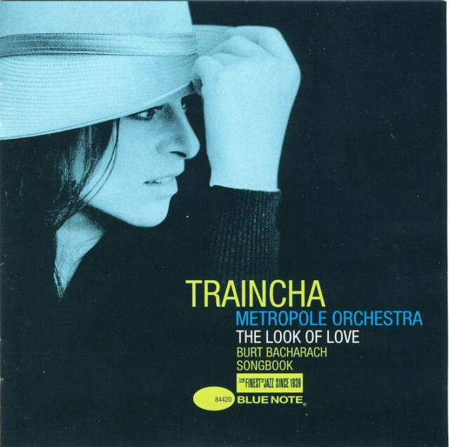 Traincha - The Look of Love (Burt Bacharach Songbook) (CD) 2007 like new