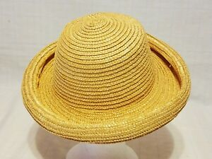 Image is loading Womens-Dressy-Straw-Hat 79231a4a8d7