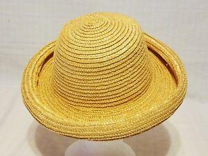 bce4af79c Details about Womens Dressy Straw Hat
