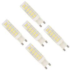 5x G9 7W Dimmbare LED Lampe Leuchtmittel mit 76 SMD 2835 Kaltweiß 6000K 500 LM