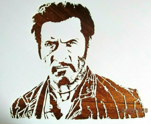 Eli Wallach Stencil Ugly Cowboy Toco Template Reusable 10 mil Mylar Good Bad