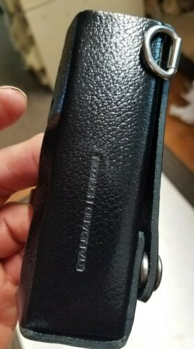 Standard Horizon Carry Case Leather LCC-370 For Hx270 Hx370   /< SD1 1386