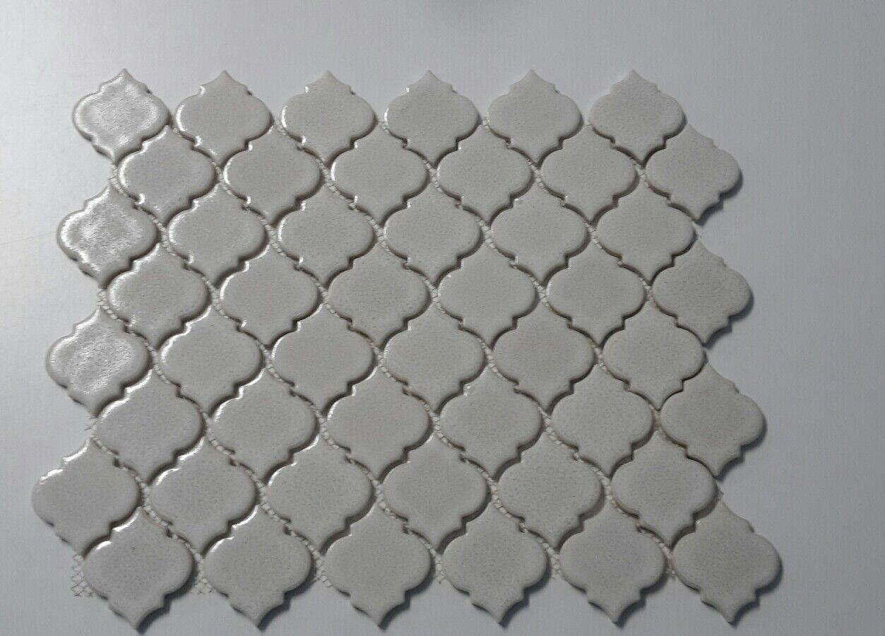 1 Matte Reparaturfliese Ersatzfliese  ca 33x25,5 weiß Florentiner F506