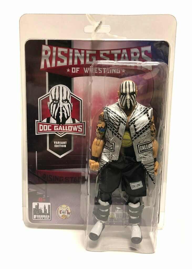 Official Rising Stars of Wrestling - DOC Gallows Action Figure (Variant)