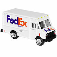 Fedex Express Diecast Metal Step Van Delivery Truck Model Replica 1/64 Scale