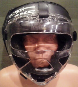 NEW-W1-Headgear-with-Plexiglass-Cage-Boxing-Kickboxing-Head-Gear-MMA-UFC