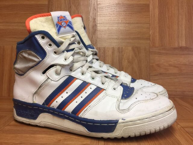 Vintage🔥 Adidas NBA Patrick Ewing New York Knicks Made In France Shoes Sz  10 LE a3a138afd