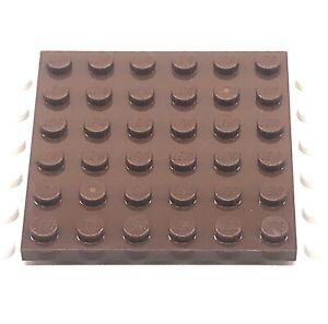 LEGO-Part-4217848-1-x-3958-Plaque-6x6-remplacement-brique-brun-rougeatre