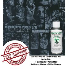 Hydro Dip Hydrographic Water Transfer The Dead Walking Film Amp 6oz Activator Kit