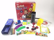 Kids Magician Hobby Show Ideal My First Magic Set 20 Tricks + DVD Magic Wand +++
