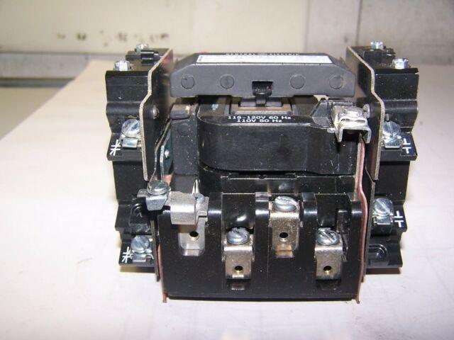 GE SIZE 1 MOTOR STARTER CR306CO**ACET 120 VOLT COIL 10 HP
