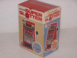 Vintage Toy Epochs Epoch Super Slotter Spielautomat Einarmiger Bandit Japan Verhindern Dass Haare Vergrau Werden Und Helfen Den Teint Zu Erhalten