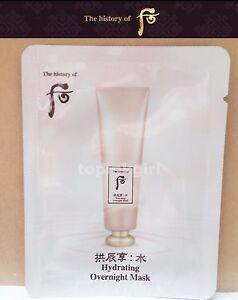 20pcs-x-WHOO-Soo-Yeon-Hydrating-Overnight-Mask-2022-New-Sleeping-Pack-Moisture