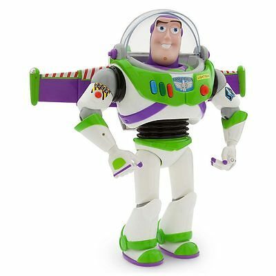 "GENUINE Disney Pixar Toy Story Buzz Lightyear Large Talking Action Figure 12"""