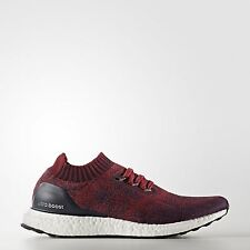 a3ba362bf052a Adidas Ultra Boost Uncaged Mystery Red Maroon Burgundy BA9617 Size US 12.5