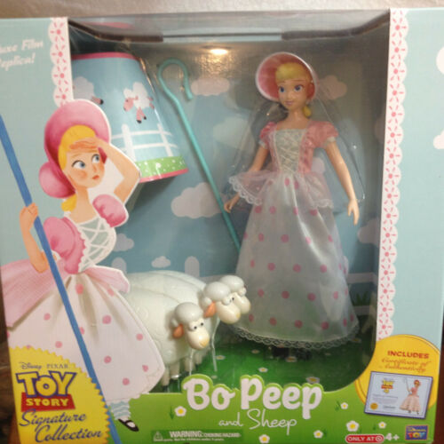 """Disney Pixar Toy Story 15/"""" Doll Bo Peep and Sheep Signature Collection New"""