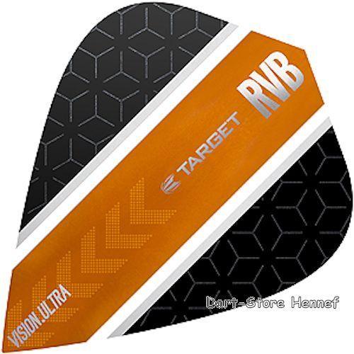 "6 Dart Flights /""Raymond van Barneveld/"" RvB Stripe Kite 331800"