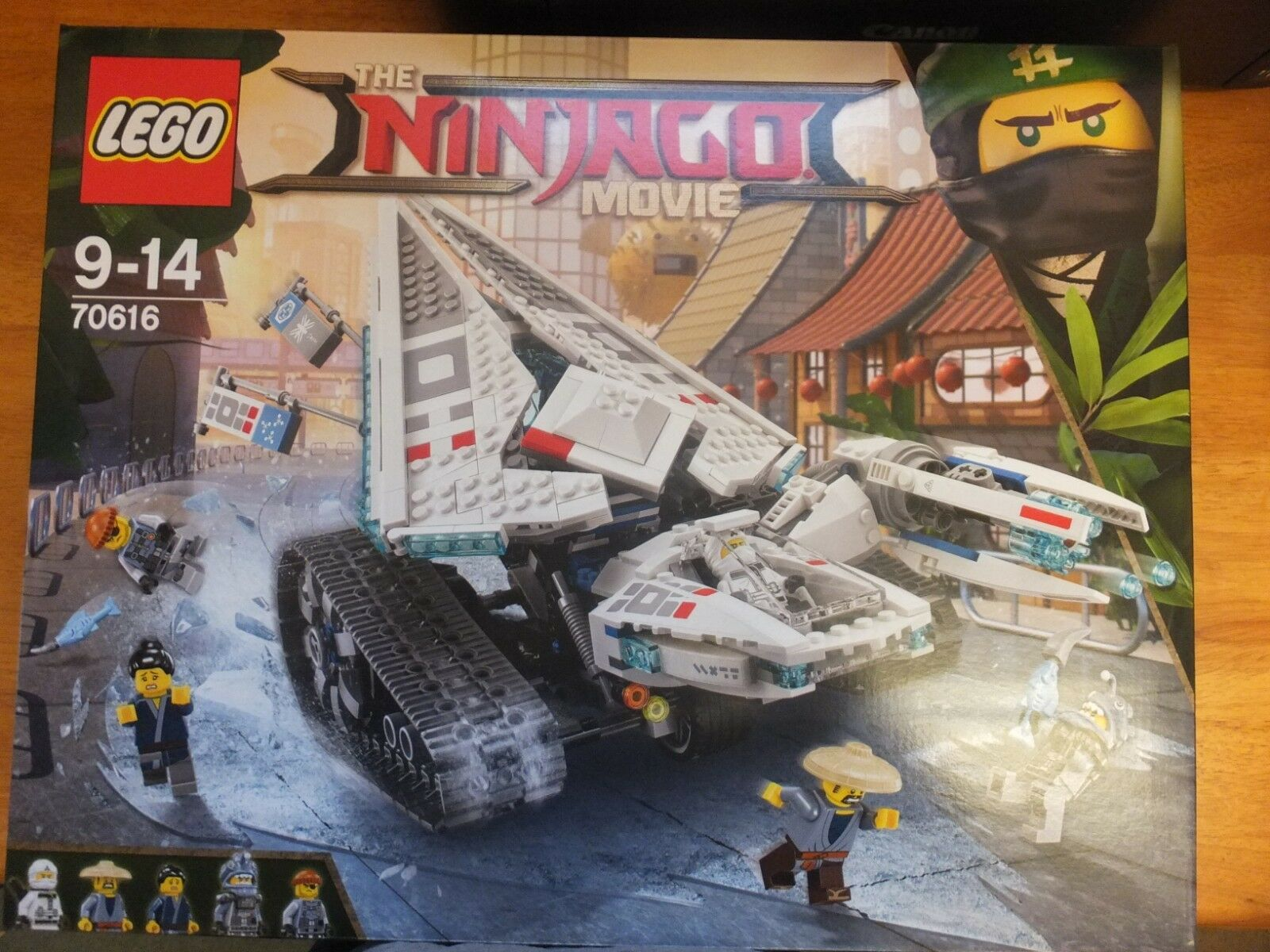 Lego 70616  Ninjago Ice Tank Set