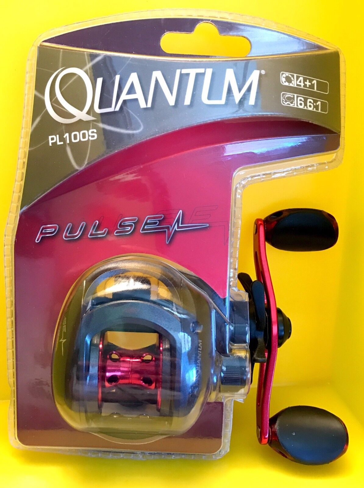 Quantum Pulse Fishing Reel Bearings Gear FREE Ratio FREE Gear SHIPPING 267755