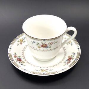 Royal-Doulton-English-China-KINGSWOOD-Cup-amp-Saucer-Set-TC1115-8-available-MINT